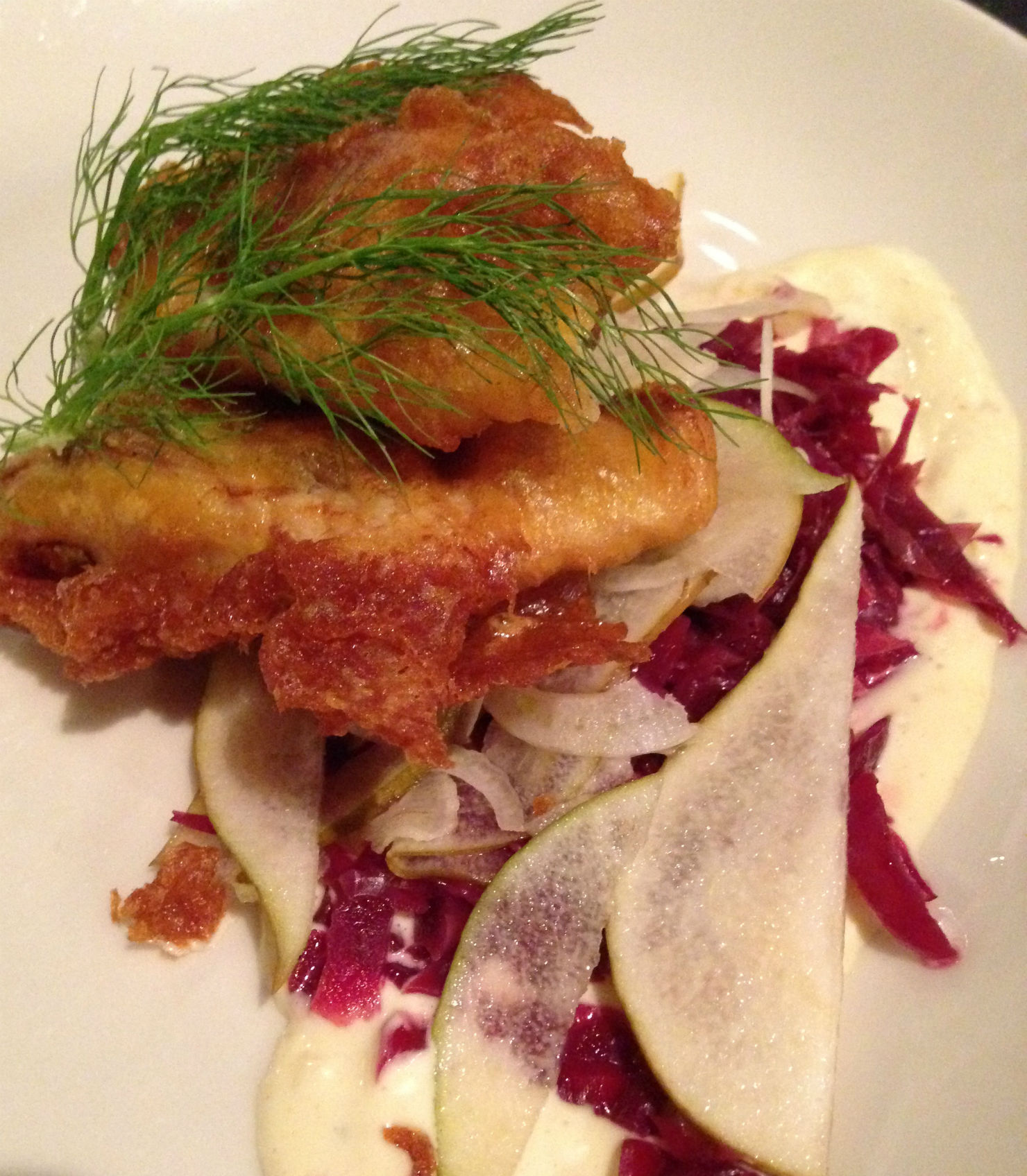 Beer Battered Texas Striped Bass