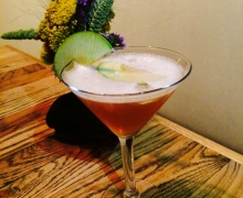 Granny Smith Apple Infused Martini